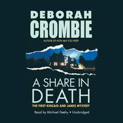 A Share in Death by  Deborah Crombie audiobook
