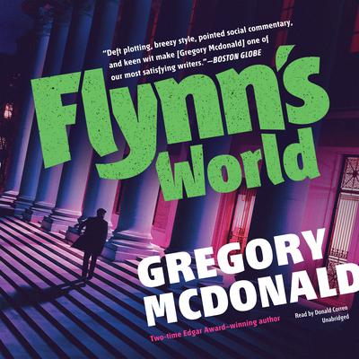 Flynn's World by Gregory Mcdonald audiobook