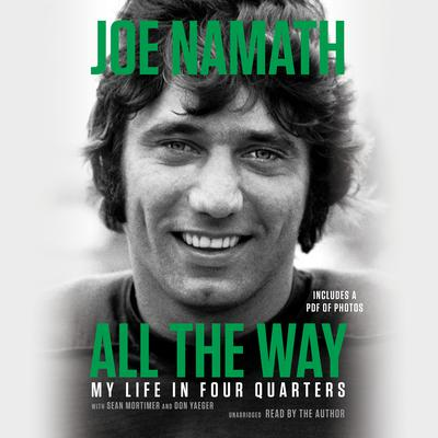 All the Way by Joe Namath audiobook